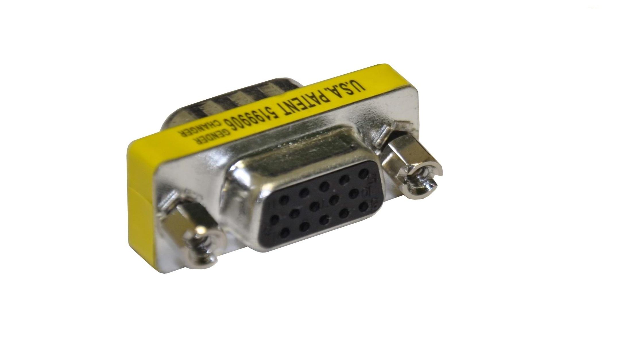 Преходник GCHD-FF15P VGA женски/VGA женски