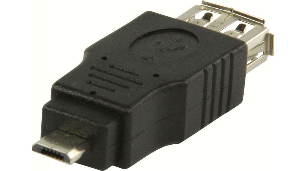 Преходник USB-A женско/microUSB мъжко