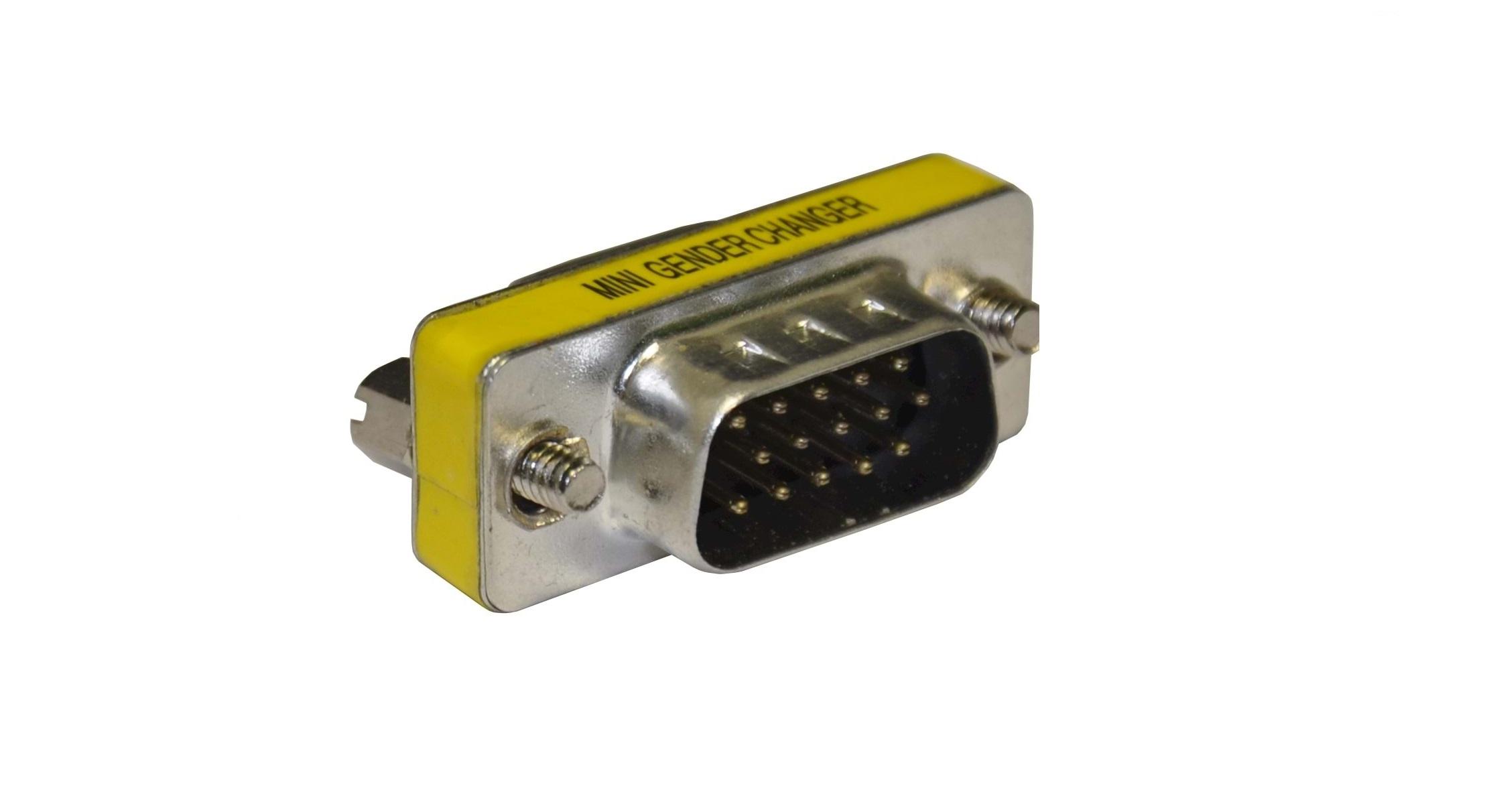 Преходник VGA мъжки/VGA мъжки