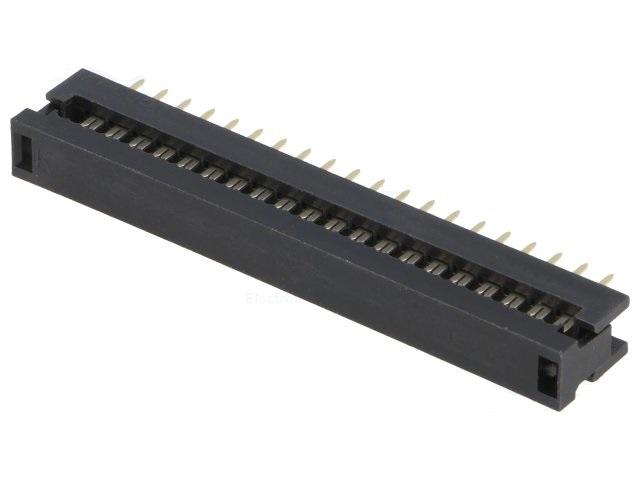 Преходник IDC DS1018-40SIBX 40пина 2.54мм