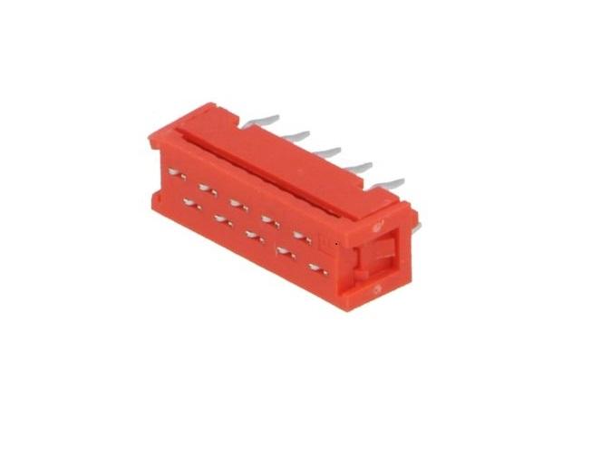 Преходник IDC DS1015-02-12R6 12пина 1.27мм