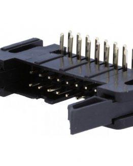 Съединител IDC AWP-14K 14пина мъжки ъглов