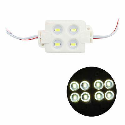 Студенобял LED модул 12VDC/0.96W влагозащитен