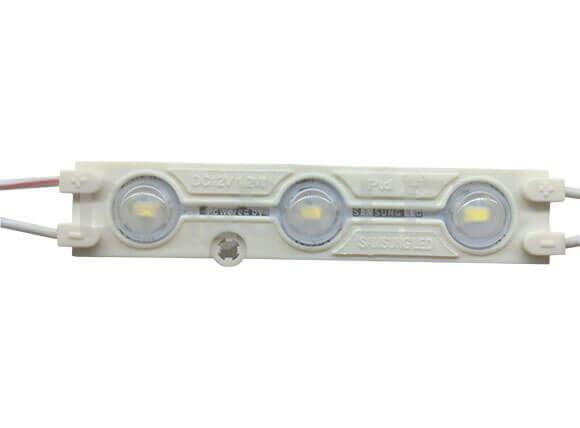 Червен LED модул 12VDC/0.96W влагозащитен