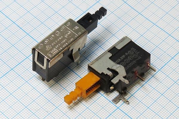Задържащ бутон Q-9860 OFF-ON 250VAC/4A