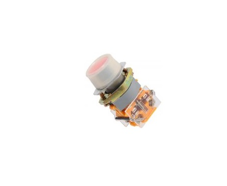 Незадържащ бутон LAY8-02SR ON-(OFF) 400VAC/10A DPST