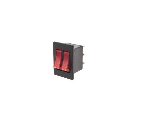Клавишен превключвател ON-ON 250VAC/15A SPDT