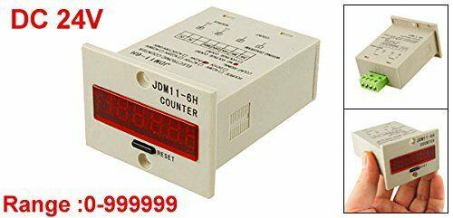 JDM11-6H-C-24 брояч на импулси, електронен 24VAC/VDC, 6 разряда, 1-999999