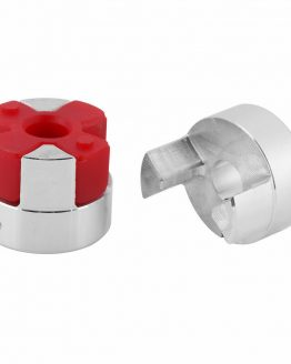 D20L25 гъвкав съединител ф5x8x25mm алуминий с еластомер
