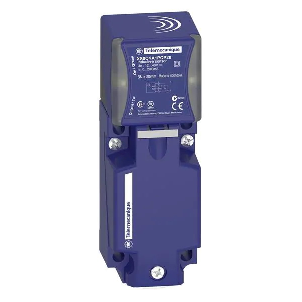 Индуктивен датчик XS8C4A1PCP20 12-48VDC PNP