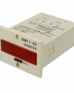 Брояч на импулси JDM11-6H2 110-220VAC 6-разряден