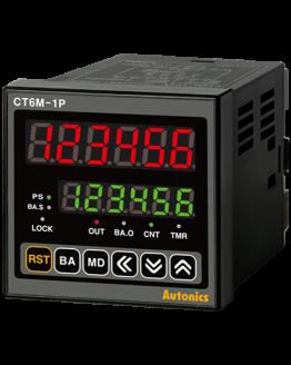 Брояч на импулси/време CT6M-2P2 24VAC/24-48VDC