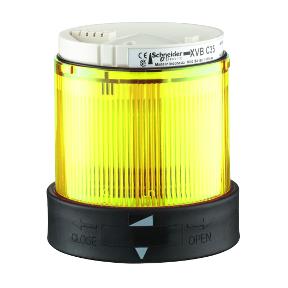 Корпус за сигнална лампа XVBC4B8 жълта
