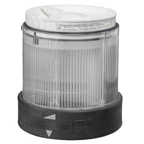Корпус за сигнална лампа XVBC37 бяла