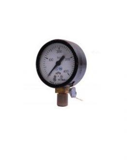 Индикаторен манометър 0-400kPa ф63x28мм