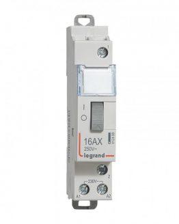 Импулсно реле LEGRAND 412408 16A/250VAC NO