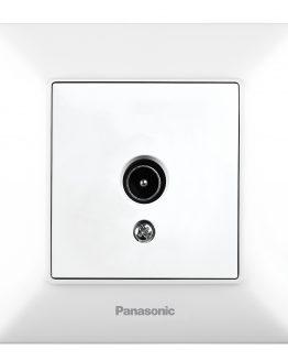 Телевизионна розетка Panasonic WNTC0452-2WH бяла