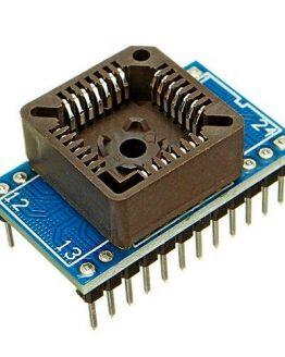 Преходник за програматор PLCC28 към DIP24